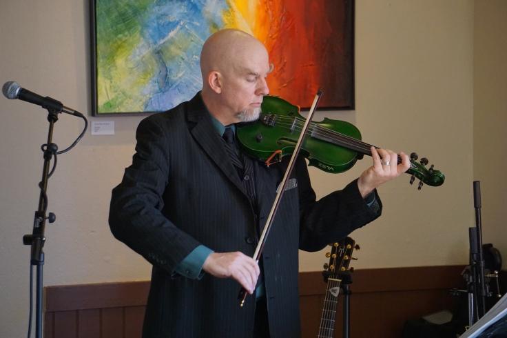 Live Looping, violin, music, Michael Mullen